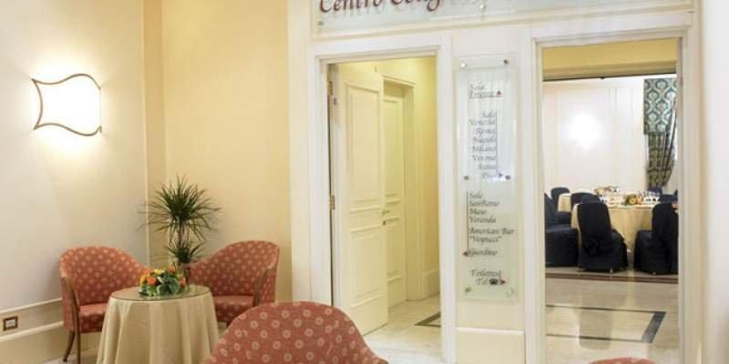 GRAND HOTEL ADRIATICO Ingresso centro congressi