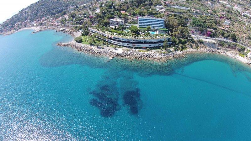 IL RESORT VISTO DAL DRONE Una veduta dall'alto del Resort