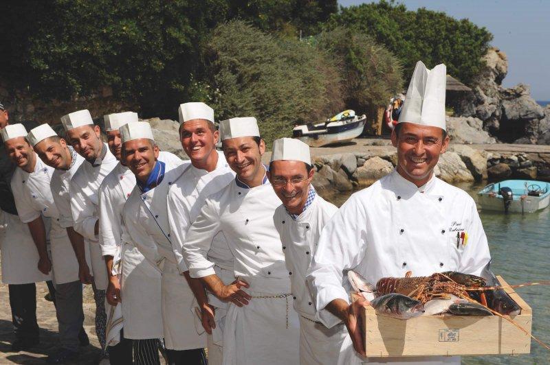 HOTEL HERMITAGE ISOLA D'ELBA 42 professionisti della ristorazione al vostro servizio