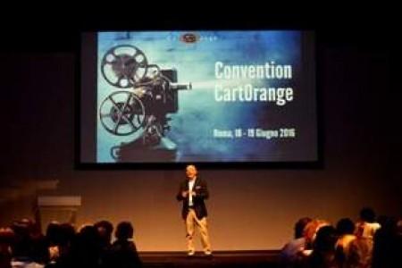 Cinecittà Studios ospita la convention di CartOrange,  200 consulenti di viaggio in scena per celebrare i successi del 2015