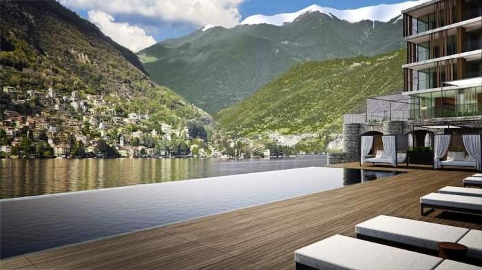 Sereno Hotels conferma l'apertura de Il Sereno, Lago di Como, progettato dall'architetto e designer Patricia Urquiola.