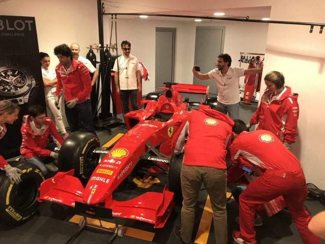Pit-Stop Experience: meccanici  di Formula 1 per un team building  nella terra dei motori