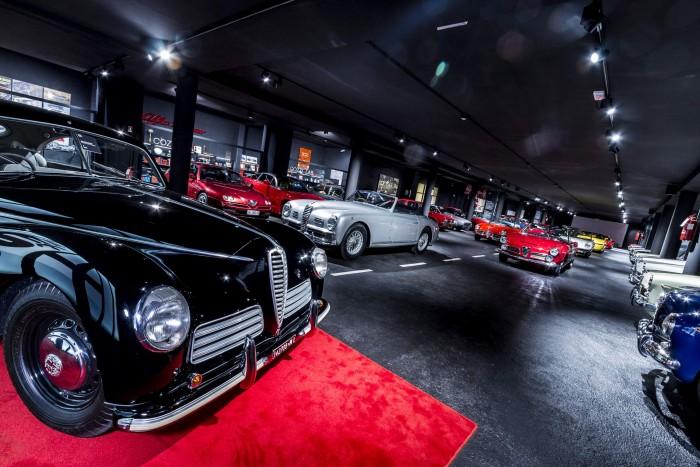 Museo Fratelli Cozzi location per meeting, eventi e ricevimenti sotto il segno del mito Alfa Romeo